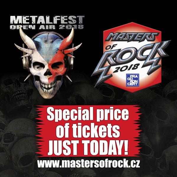 Metalfest 2018 - Frühbucherpreis endet heute