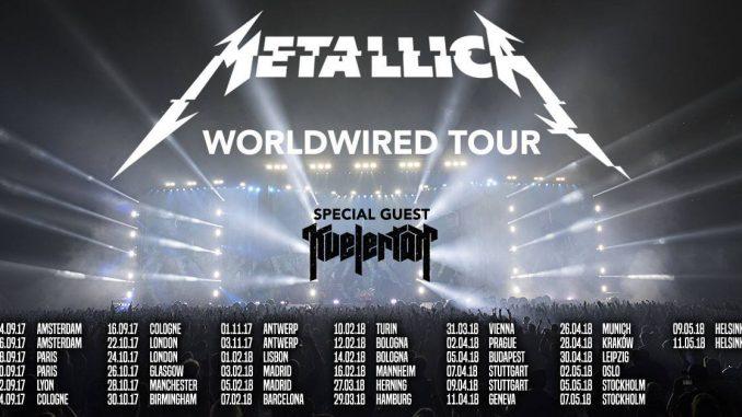 Metallica Worldwired Tour 2017-2018