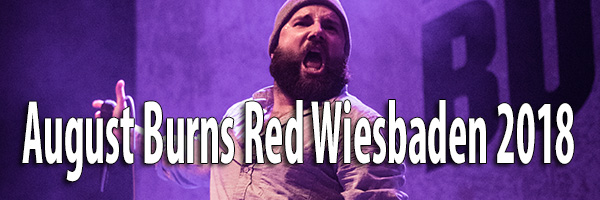 Fotos August Burns Red Schlachthof Wiesbaden 2018