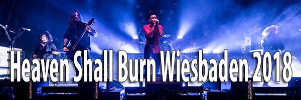 Fotos Heaven Shall Burn Schlachthof Wiesbaden 2018