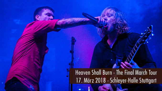 Heaven Shall Burn The Final March Tour 2018 Schleyer-Halle Stuttgart