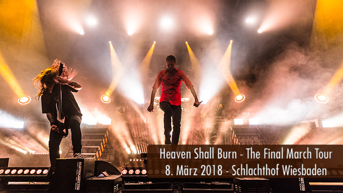 Konzertbericht Heaven Shall Burn The Final March Tour 2018 Schlachthof Wiesbaden
