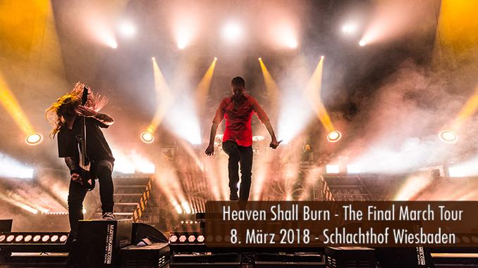 Konzertbericht Heaven Shall Burn The Final March Tour 2018 Schlachthof Wiesbaden