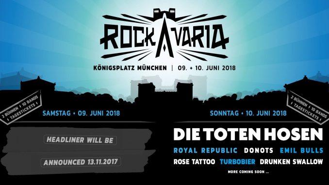 Rockavaria 2018 Die Toten Hosen