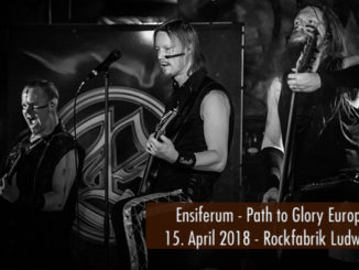 Ensiferum Path to Glory Europatour 2018 Rockfabrik Ludwigsburg