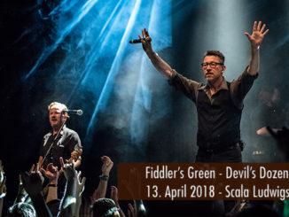 Fiddlers Green Devils Dozen Tour 2018 Scala Ludwigsburg
