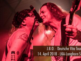 JBO Deutsche Vita Tour 2018 LKA-Longhorn Stuttgart