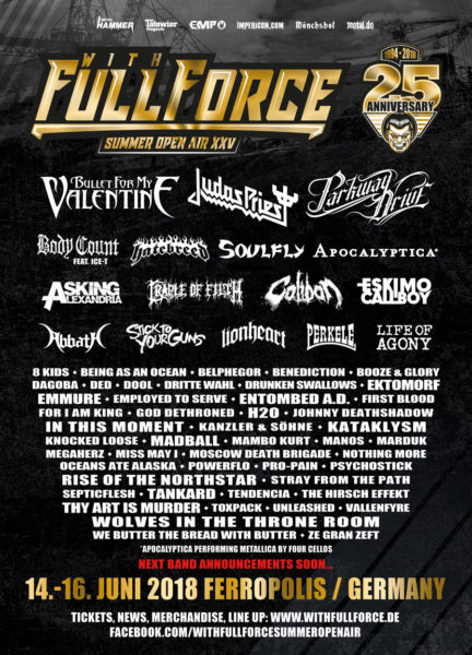 Flyer With Full Force 2018