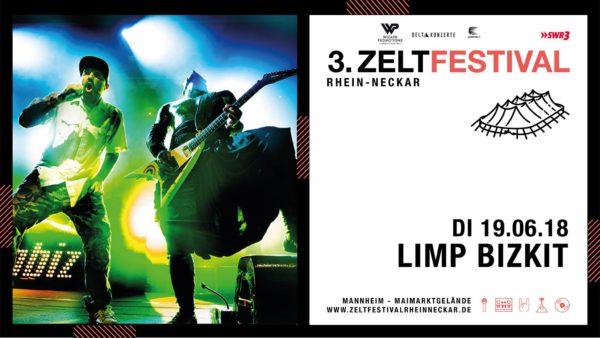 LIMP BIZKIT Zeltfestival 2018