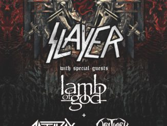 Slayer Deutschland Tour 2018