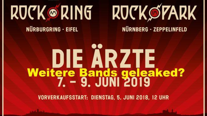 Weitere Bands Fur Rock Am Ring 2019 Geleaked Outroar De