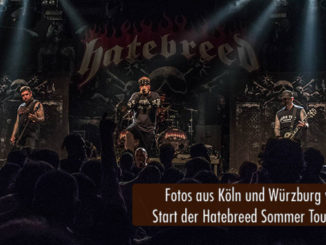 Start der Hatebreed Sommer Tour 2018