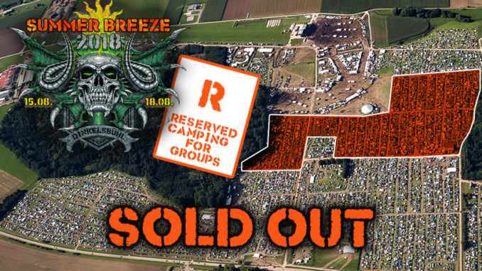 Summer Breeze 2018 Reservierbare Campingflächen Sold Out