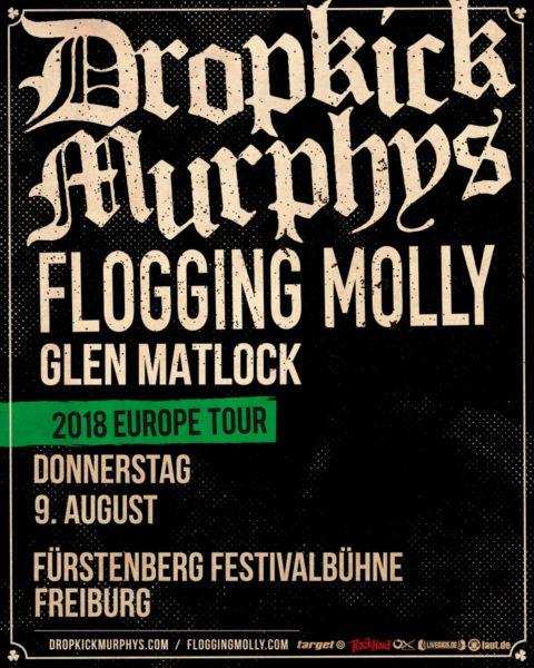 Dropkick Murphys Freiburg 2018