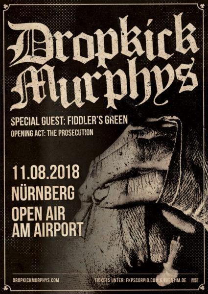 Dropkick Murphys Nürnberg 2018