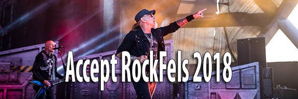 Fotos Accept RockFels 2018