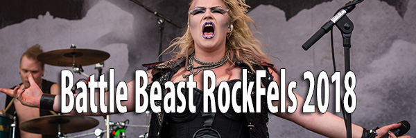 Fotos Battle Beast RockFels 2018