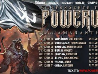 Powerwolf Wolfsnächte Tour 2018