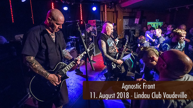 Agnostic Front Club Vaudeville Lindau 2018