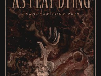 Flyer As I Lay Dying Europa Tour 2018
