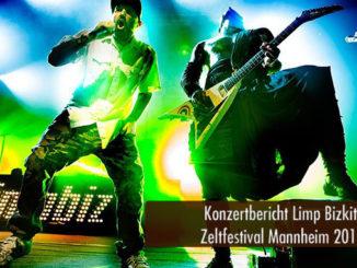 Konzertbericht Limp Bizkit Zeltfestival Mannheim 2018