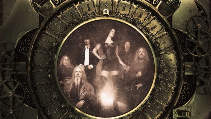 NIGHTWISH Decades Europe Tour 2018 Flyer
