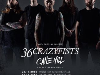 Flyer Bury Tomorrow Deutschland Tour 2018