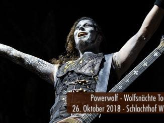 Powerwolf Wolfsnächte Tour 2018 Schlachthof Wiesbaden