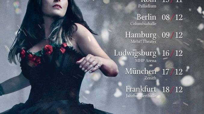 Within Temptation 2018 Deutschland Flyer