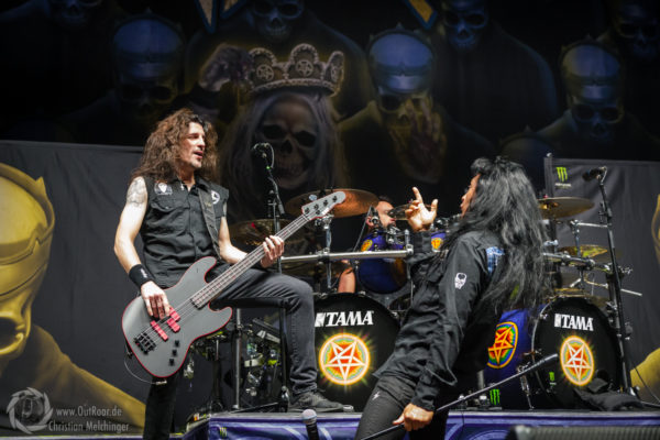 Foto Anthrax Sick-Arena Freiburg 2018