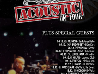 Flyer ENSIFERUM Acoustic Europa Tour 2018