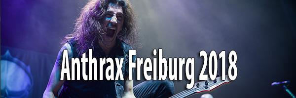 Fotos Anthrax Sick-Arena Freiburg 2018
