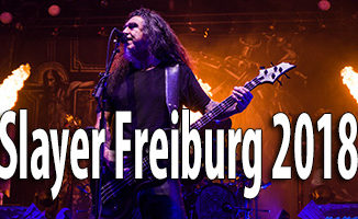 Fotos Slayer Sick-Arena Freiburg 2018