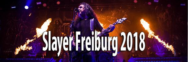 Fotos Slayer Sick-Arena Freiburg 2018
