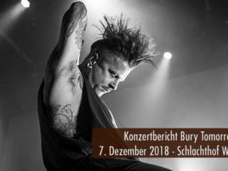 Konzertbericht Bury Tomorrow Schlachthof Wiesbaden 2018