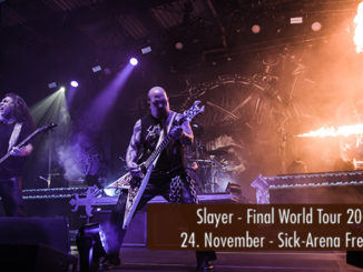Konzertbericht Slayer Final World Tour 2018 Sick-Arena Freiburg
