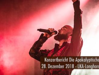 Konzertbericht die Apokalyptischen Reiter Schreinachten LKA Longhorn Stuttgart 2018