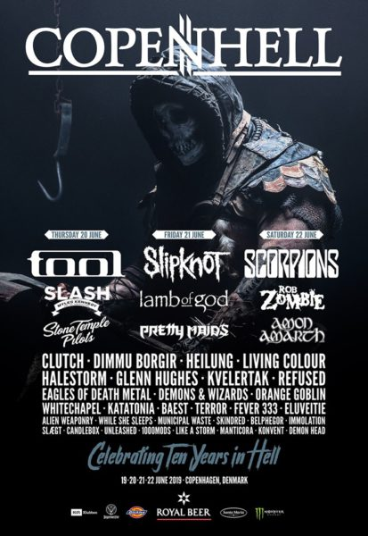 Flyer Copenhell 2019