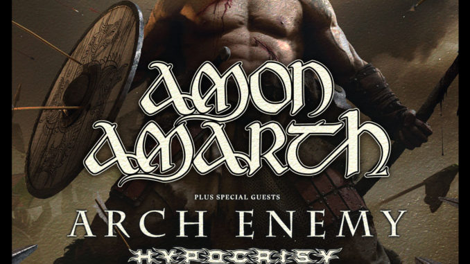 Amon Amarth Tour 2019 Flyer