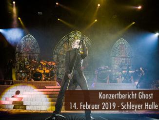 Konzertbericht Ghost Schleyer-Halle Stuttgart 2019