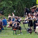 MPS Speyer 2015 Saltatio Mortis Sänger im Publikum
