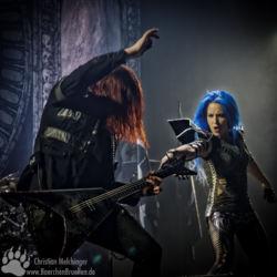 Arch Enemy Jahrhunderthalle Frankfurt - Michael Amott - Alissa White-Gluz