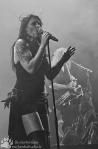 Nightwish Jahrhunderthalle Frankfurt - Floor Jansen