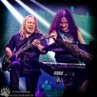 Nightwish Jahrhunderthalle Frankfurt - Emppu Vuorinen - Tuomas Holopainen